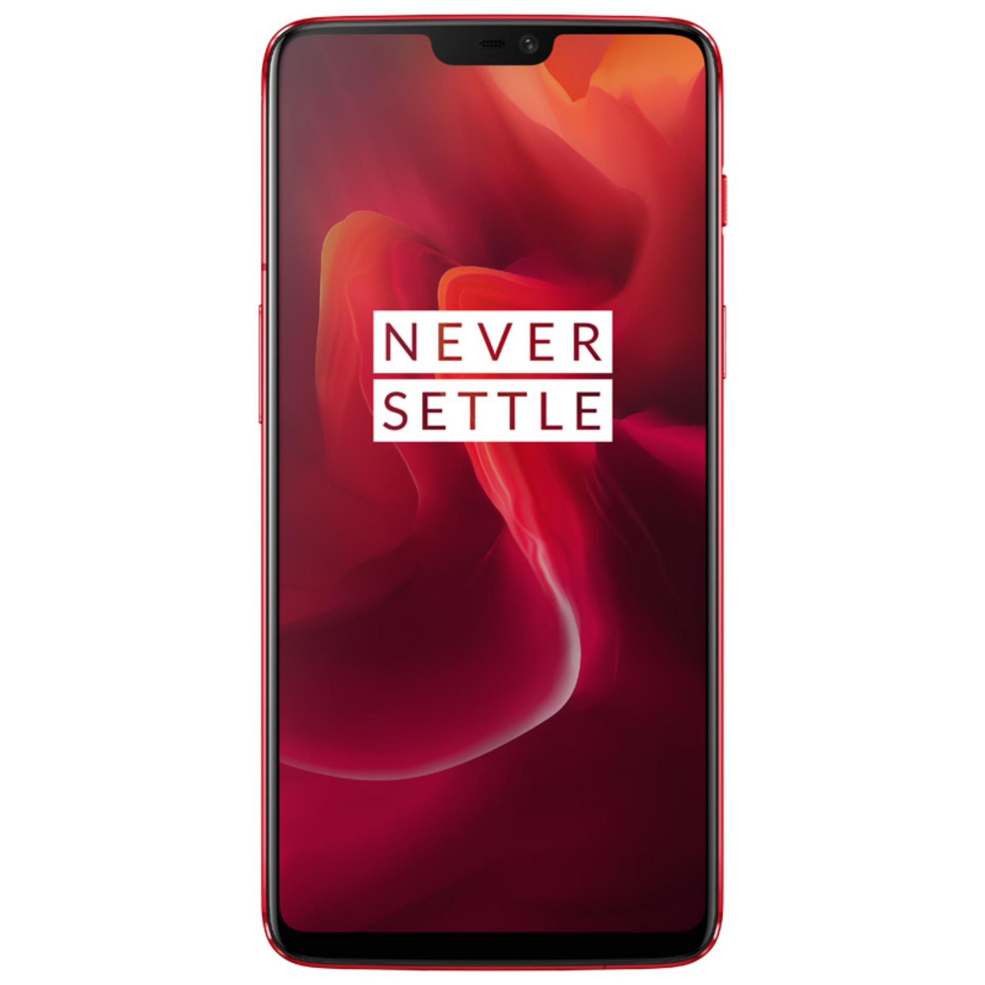 OnePlus 6 A6003 Red (8GB RAM+128GB ROM)- Free Gift With Bullets Wireless Worth $179.9