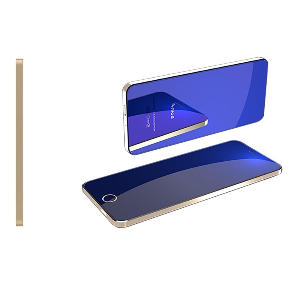 """Anica A9 + Điện Thoại Di Động Mở Khóa GSM 1.54 """"Điện Thoại có Quad Core Quad Ban Nhạc Ốp Viền-Ít Dual SIM SỐ Phím Cảm Ứng Nhiều Màu Sắc"""