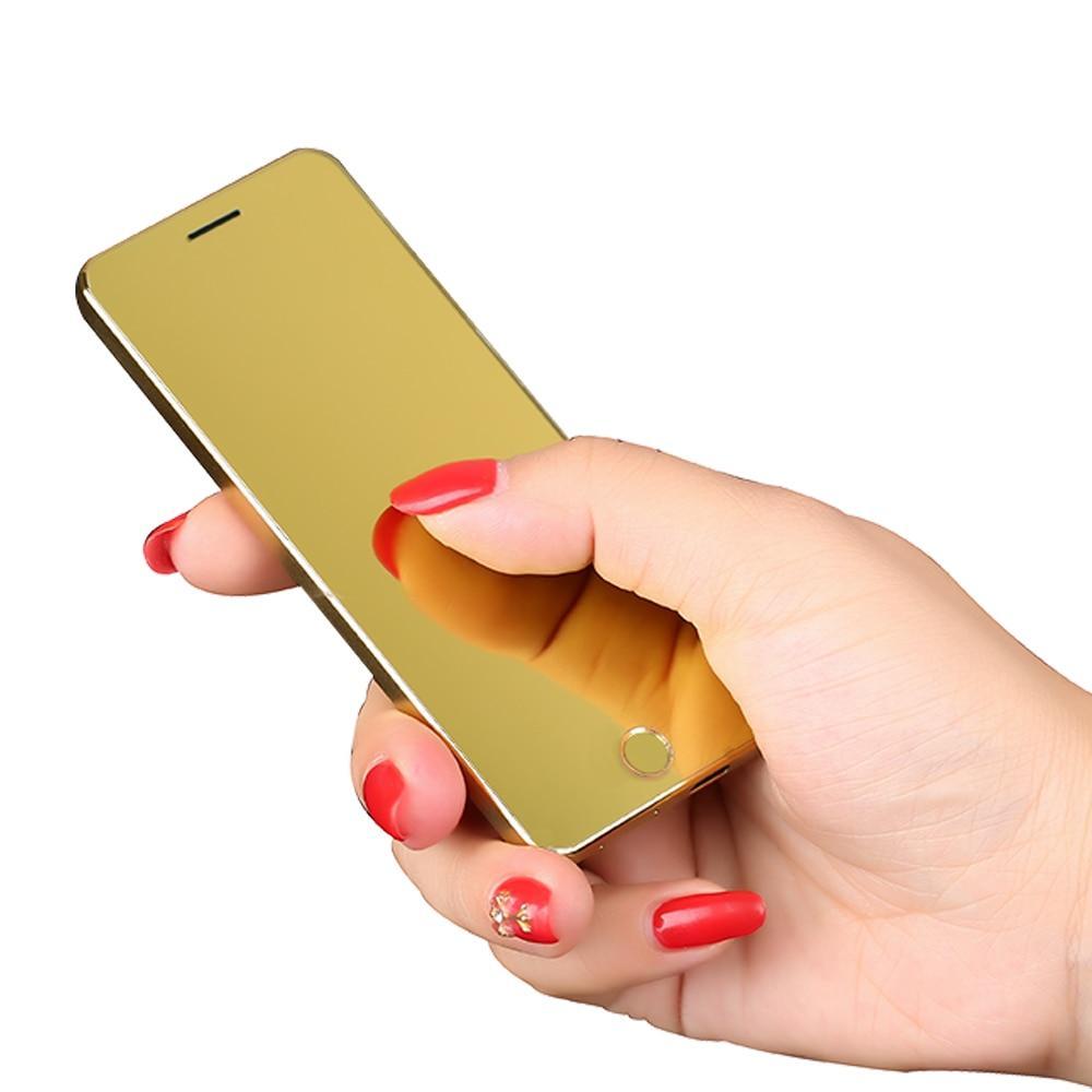 """Anica A9 dễ thương giá rẻ Điện Thoại Di Động mở khóa, 1.54 """"GSM Điện Thoại có Quad Core Quad Ban Nhạc Ốp viền-Ít Dual SIM Phím cảm ứng dành cho Nữ"""