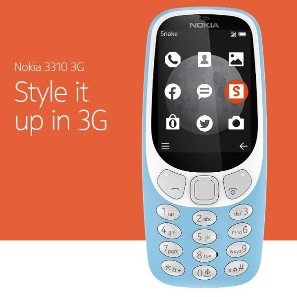 Nokia 3310 16MB Ram (Grey) – 2017 Latest Edition (3G)
