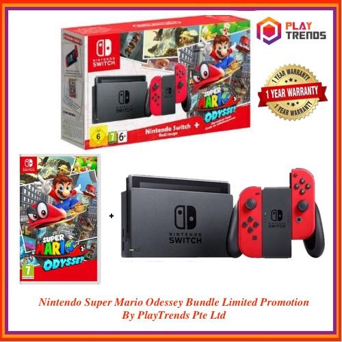 Nintendo Switch Super Mario Odyssey Bundle - Local Set