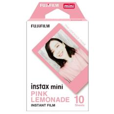 Fujifilm Instax Mini Pink Lemonade Instant Films – 10 Sheets