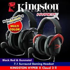 Kingston HyperX Cloud II Pro Gaming Headset RED KHX-HSCP-RD (Better than Logitech Razer Gaming Headsets)
