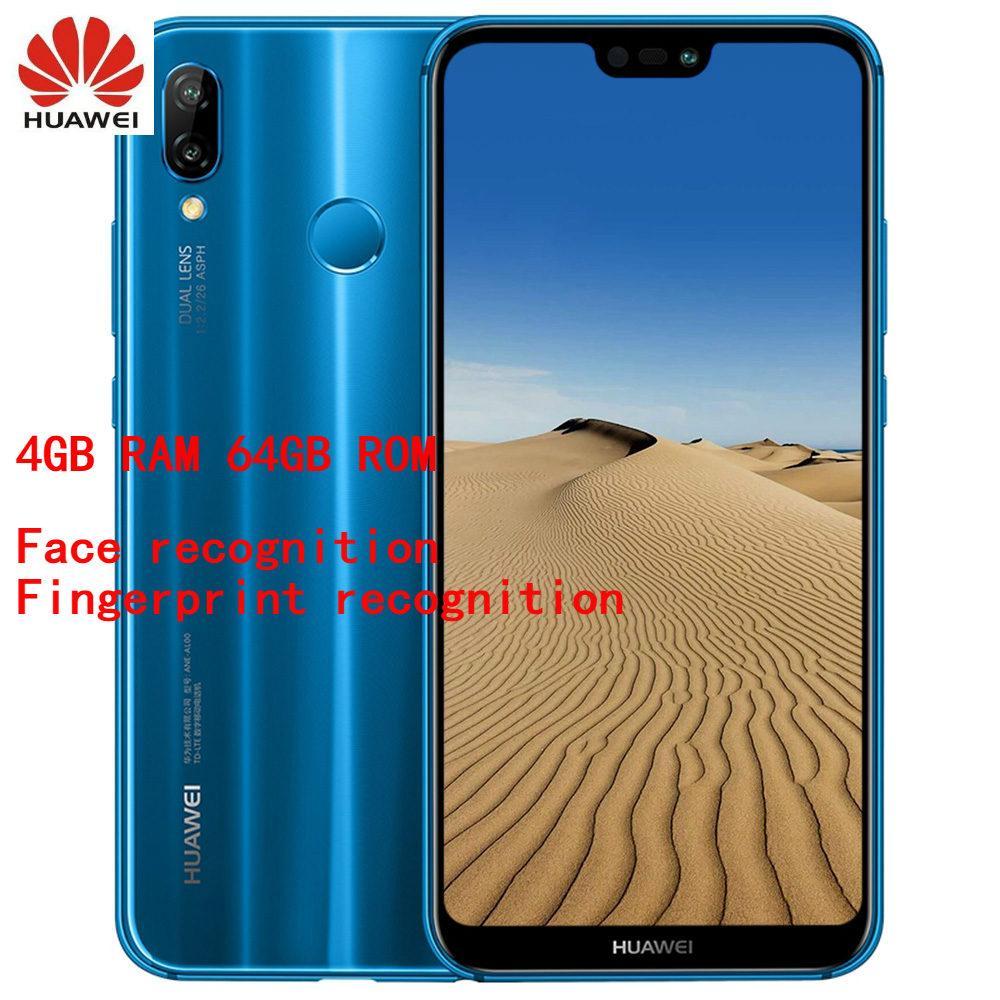 Original Global Version HUAWEI Nova 3e / P20 Lite 4G Phablet Kirin 659 Octa Core 4GB + 64GB with Fingerprint Unlock