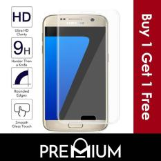 [BUY 1 FREE 1] Tempered Glass Screen Protector For Samsung Galaxy S3 S4 S5 S6 S7 Note 2 3 5 4 A3 A5 A7 A8 A9 J1 J2 J3 J4 J5 J6 J7 Prime Pro – Clear ( Non full cover / coverage )