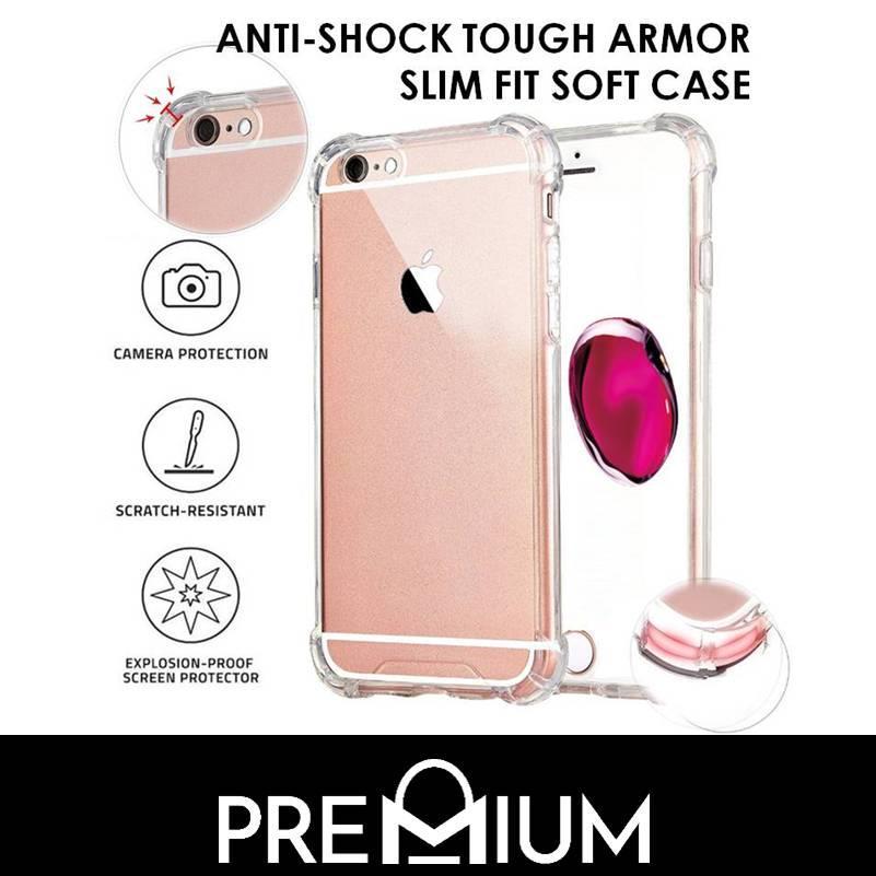 Anti-Shock Tough Armor Slim Soft Case For Xiaomi Mi Max 2 – Clear