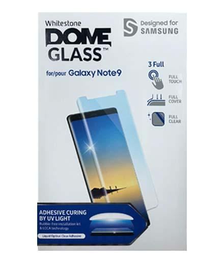 [For Galaxy Note 9] Whitestone Dome Screen Tempered Glass