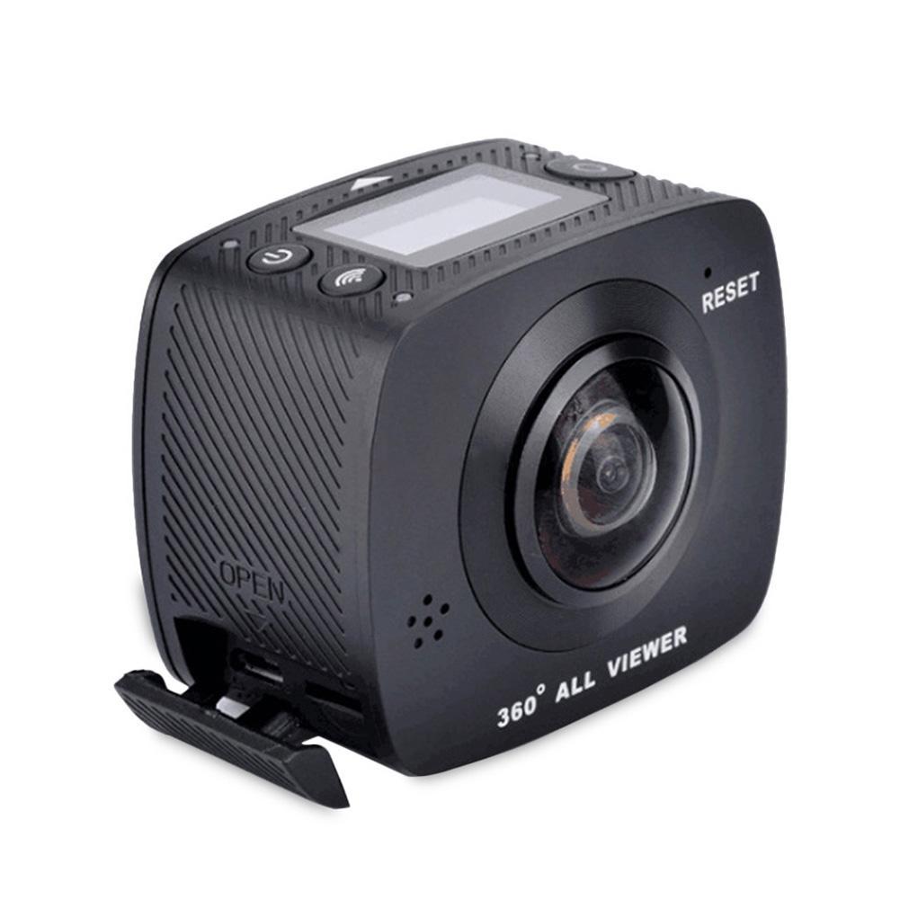 360 Sport Camera 8MP Pixels Dual Lens 720 Degree Panoramic View VR Format Camera PRO