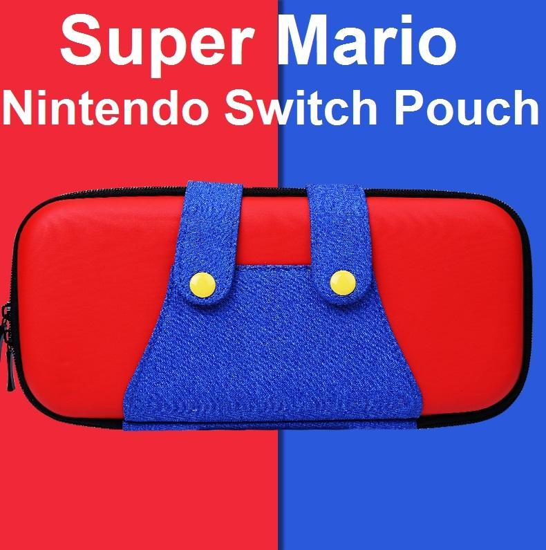 Nintendo Switch 3 in 1 Super Mario Protective Bag Pouch Case