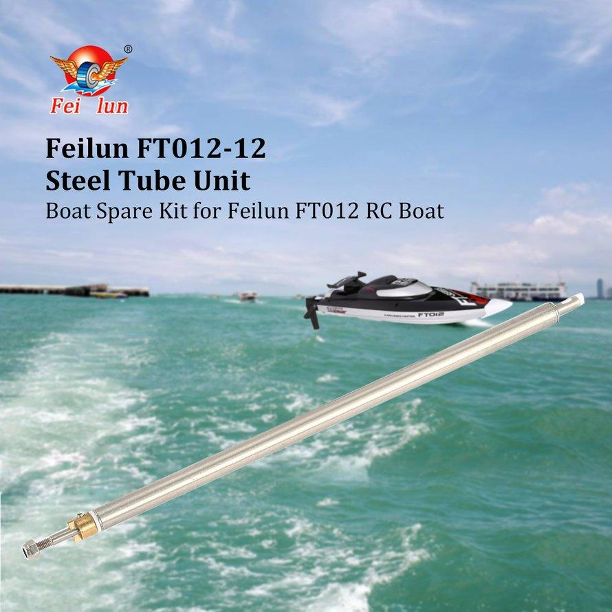 OSMAN Feilun FT012-12 Steel Tube Unit Metal Shaft Boat Spare Part for FT012 RC Kit