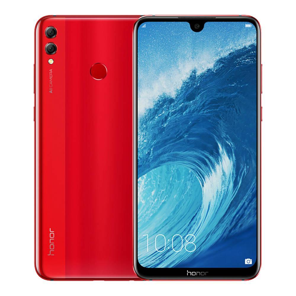 (Local 1 Year Warranty) Honor 8X 128GB+4GB Ram – (Red/Blue/Black) FREE Sony SBH24 Bluetooth Headset worth $99!