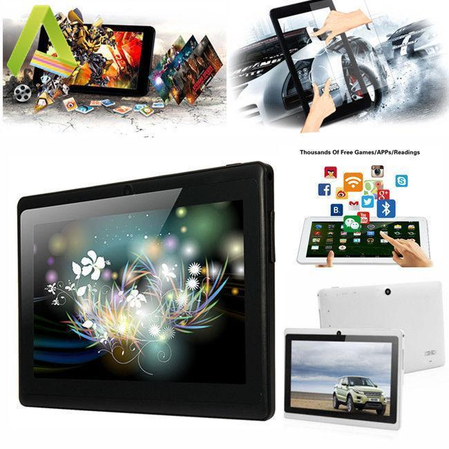 "7"" A33 Quad Core Dual Camera Google Android 4.4 Tablet PC 16G WIFI UK 8 Color"