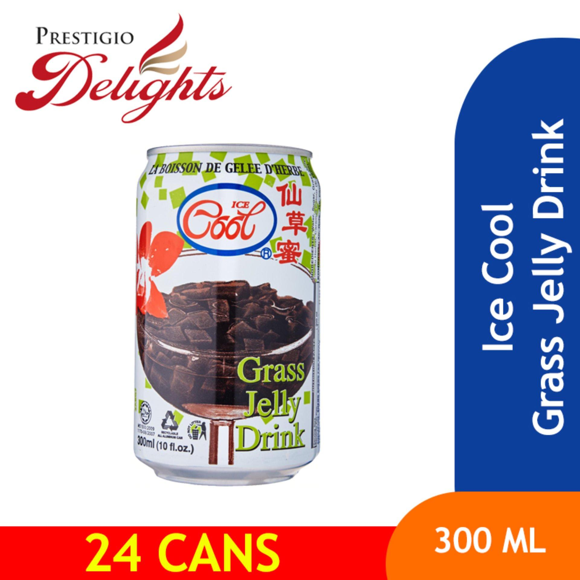 Ice Cool Grass Jelly Drink x 24 image