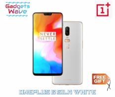 OnePlus 6 Silk White A6003 128GB/8GB (Local Warranty) – Free Dash Charger and Cable!!