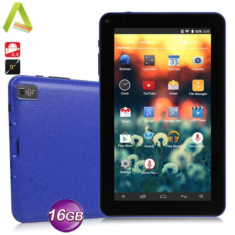9'' A33 Quad Core Dual Camera Google Android 4.4 WIFI HD 1G + 16G Tablet PC US