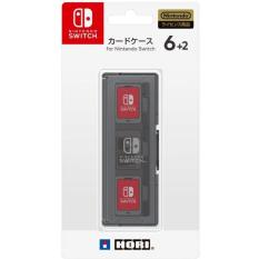 NSW-017 Hori Nintendo Switch Card Case 6+2 Black-JP