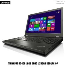 Lenovo ThinkPad T540P 15.6in LED Laptop i5-4300M #2.6Ghz 8GB DDR3 240GB SSD Win 10 Pro One Month Warranty Used