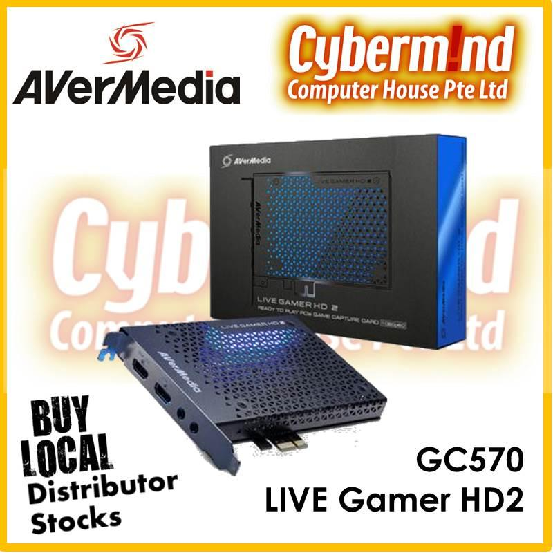 AVerMedia Live Gamer HD2 (GC570), FUll HD Game Capture Card for streaming / Video capture