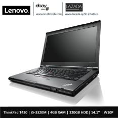 Lenovo ThinkPad T430 Notebook i5-3320M#2.6Ghz 4GB DDR3 320GB HDD WIN10 Pro 14in Warranty Used