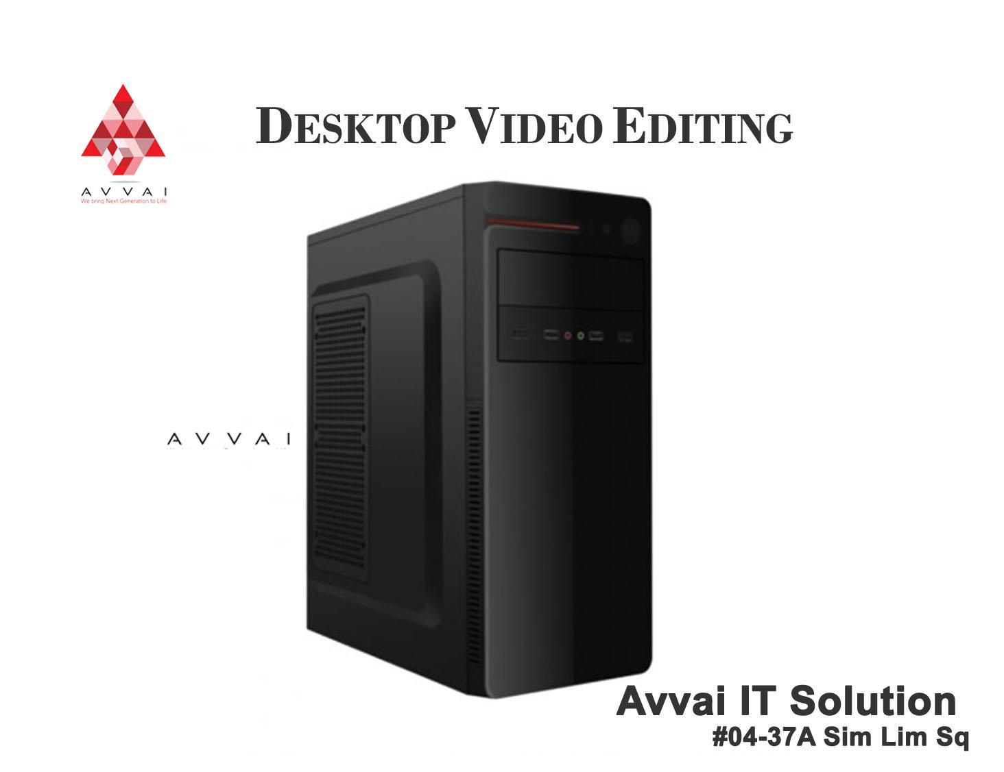 Desktop Video Editing -Intel i7 8700
