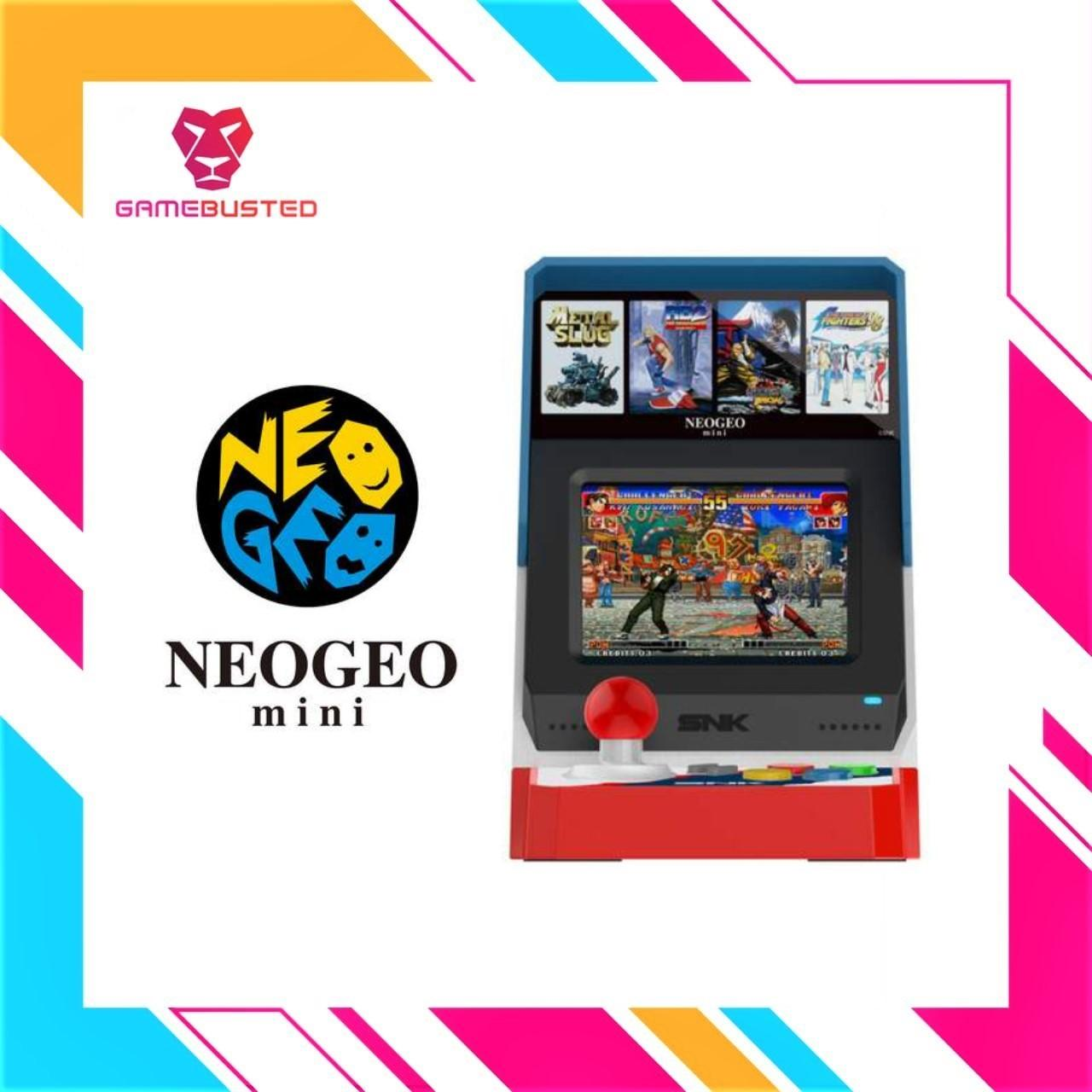 NeoGeo SNK 40th Anniversary Mini Console (In stock now)