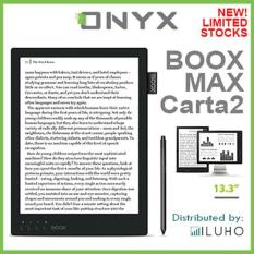 New! Onyx Boox Max 2 – 13.3″ Android E-ink Reader with Flexible Display (with HDMI)
