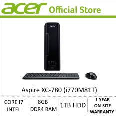Acer Aspire X Aspire XC-780 (i770M81T) Core i7 Mini PC/Desktop