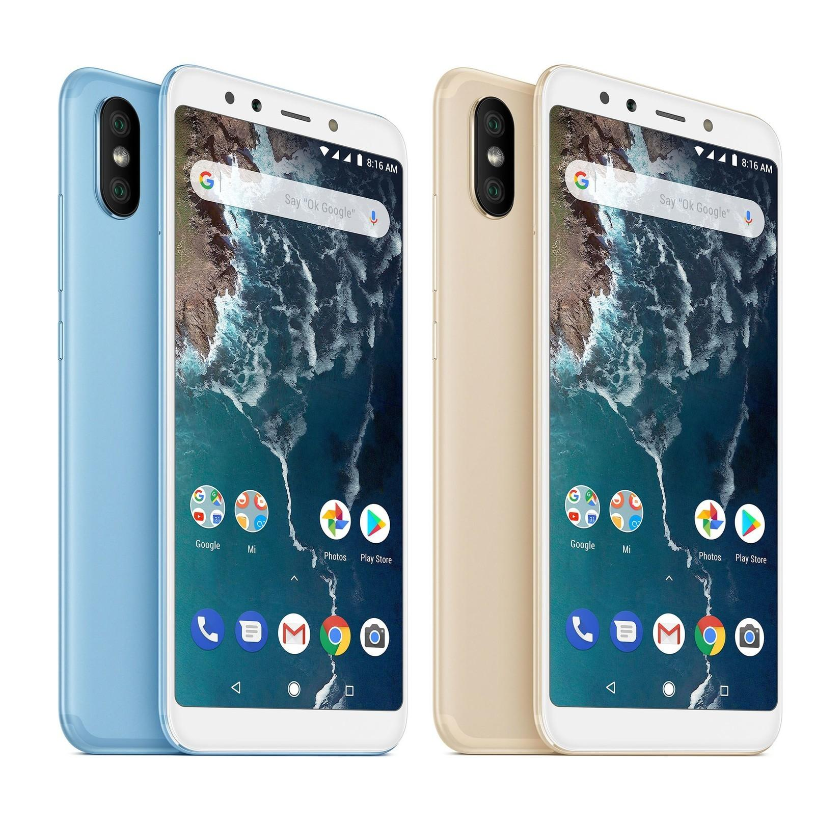 New Launch! Xiaomi Mi A2 - 128GB with 6GB Ram , 64GB / 32GB - Global ROM