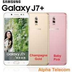Samsung Galaxy J7 Plus (4GB/32GB) Singapore Warranty Set {FREE Samsung microSD EVO 64GB} BRAND NEW-UNSEAL