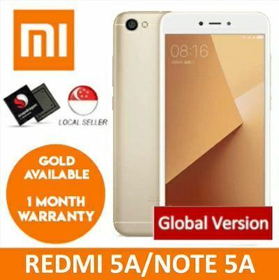Xiaomi Redmi Note 5A (GLOBAL ROM)