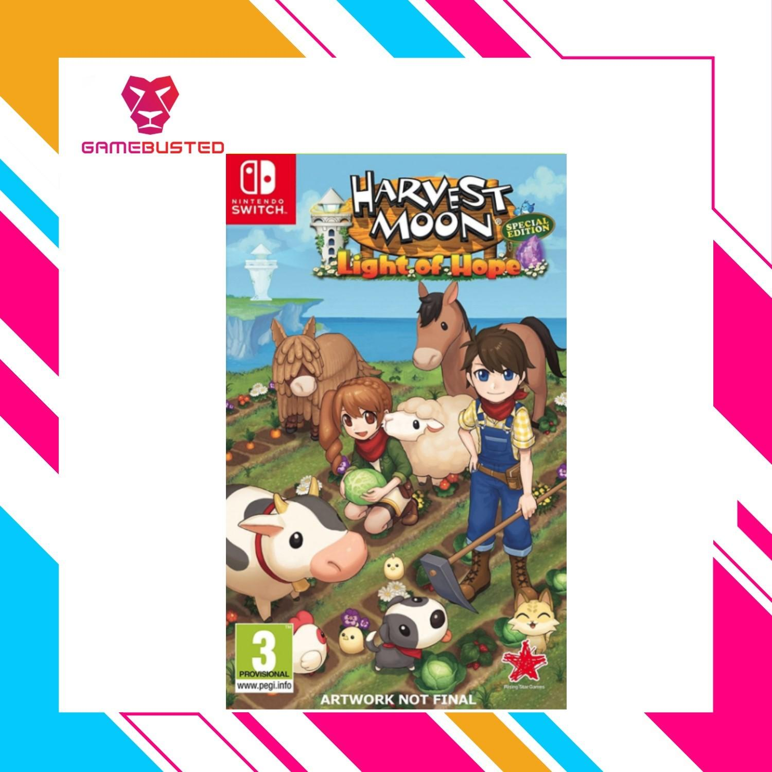 Nintendo Switch Harvest Moon Light Of Hope Collector Edition (PAL)