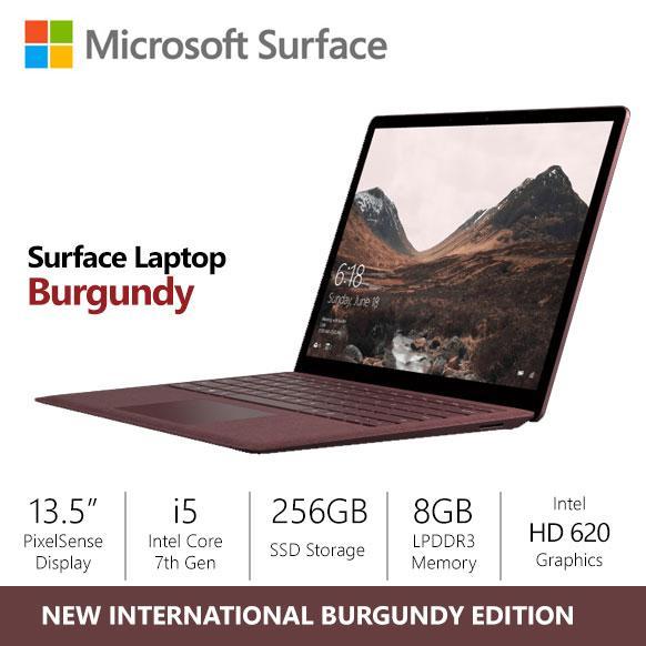 [SALE] Microsoft Surface Laptop i5/8gb/256gb Burgundy (US Version)
