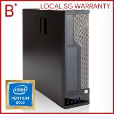 Intel 8th Gen PC, 4K HDMI, G5400 Gold CPU, 1TB, HD Graphics, Small Form Factor Desktop
