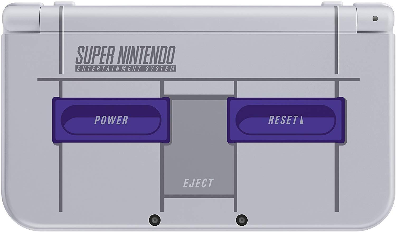 Nintendo New 3DS XL - Super NES Edition + Super Mario Kart for SNES (without AC Adaptor)