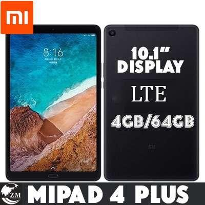 XIAOMI MI PAD 4 PLUS /LTE/10.1Inches/Export Set/One month warranty