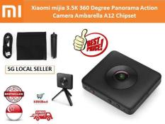 Xiaomi mijia 3.5K 360 Degree Panorama Action Camera Ambarella A12 Chipset Domestic Edition