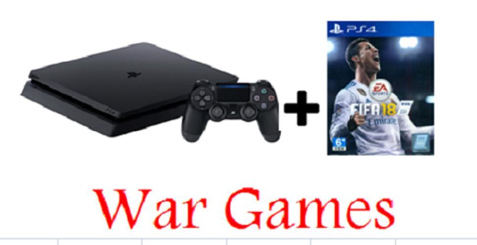 PS4 500gb Slim Bundle Fifa 18 (Region 3)