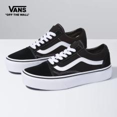 Vans Old Skool Platform Men Sneakers (Unisex US Size) Classic Black VN0A3B3UY281