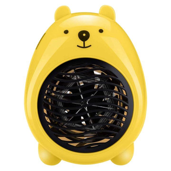 Home Heater Electric Portable Space Heater Fan Small Indoor Desktop Ceramic Heater For Bedroom Indoor Warmer Lazada