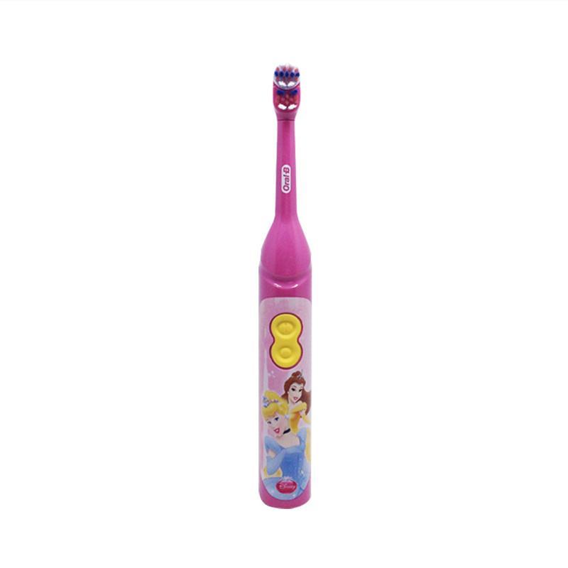 Cepillo de dientes eléctrico Oral B para niños cuidado bucal cabeza de cerdas suave batería giratoria para niños 3 + Small house Store