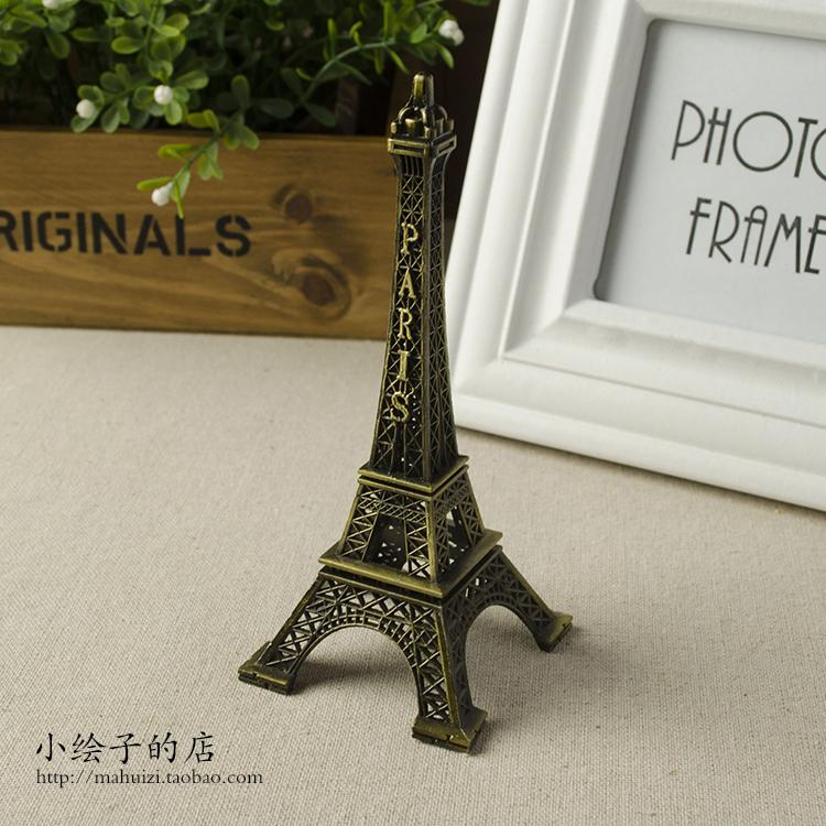 13cm Eiffel Paris Eiffel Tower Decorations And Ornaments Shop Photo Taking Background Taobao Take Figure Filming Photographic Prop