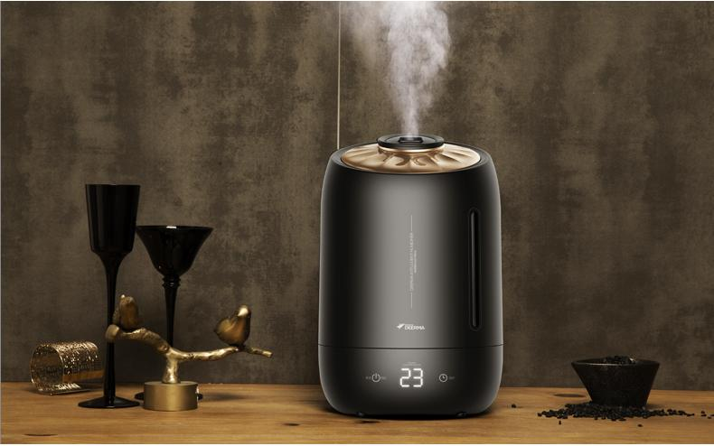 DEERMA F600 ULTRASONIC AIR HUMIDIFIER/5L LARGE CAPACITY/AROMA DIFFUSER/SG  Plug/ Up to 12 Months SG Warranty  