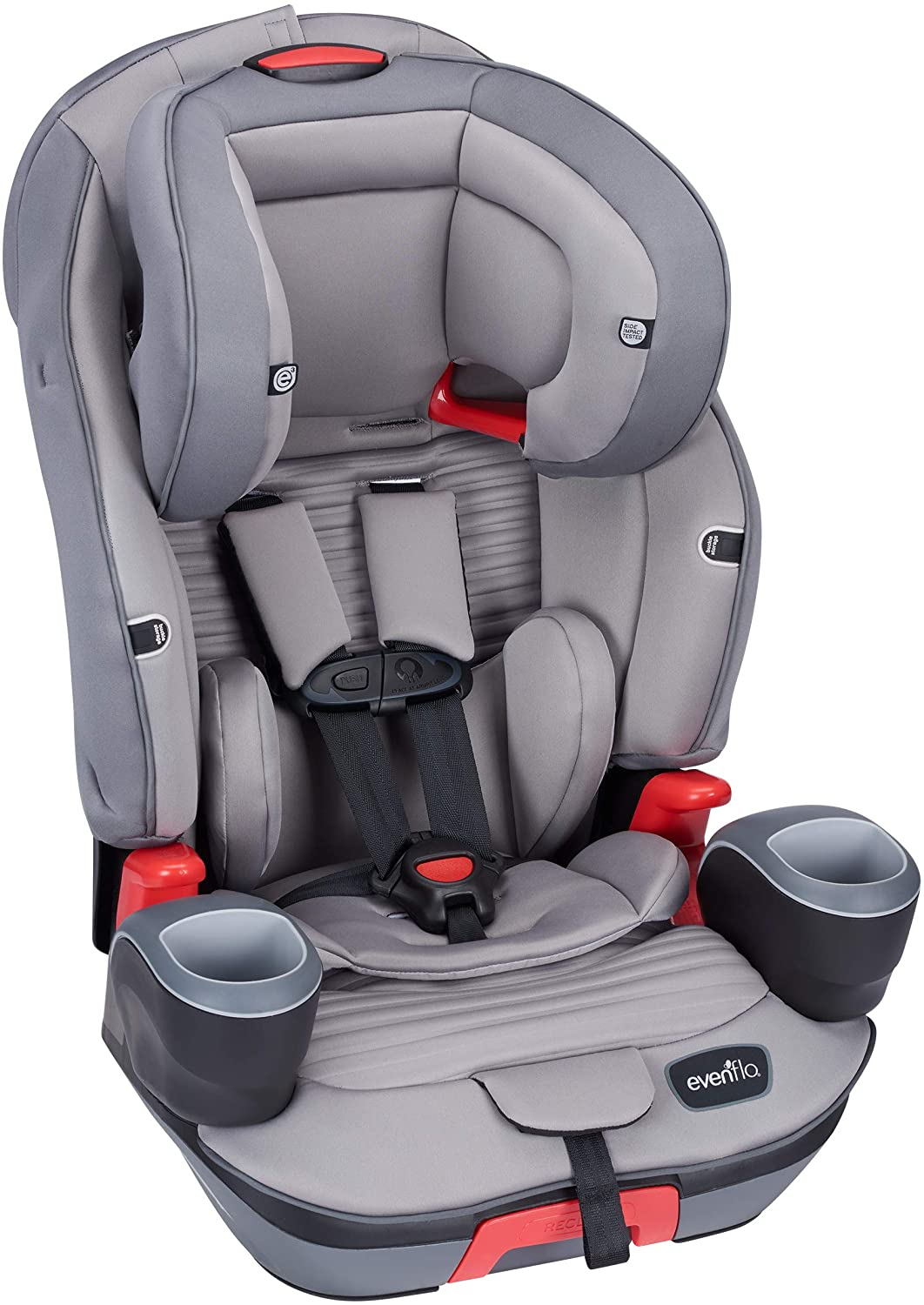 Evenflo Evolve Platinum 3 In 1 All In One Combination Child Children Kids Baby Infant Car Seat Chair Booster Seat Charcoal Stripe Lazada Singapore