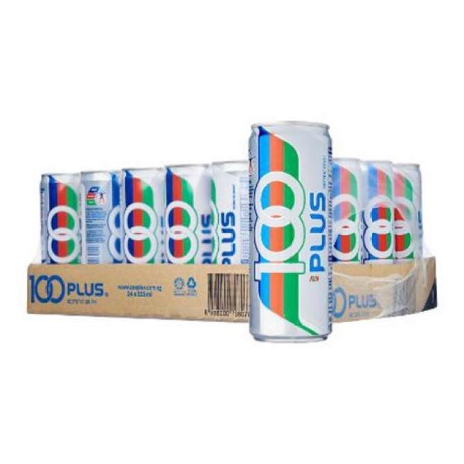 100 Plus - 325 ml x 24 cans
