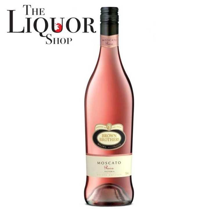 BROWN BROTHERS MOSCATO ROSA 75CL