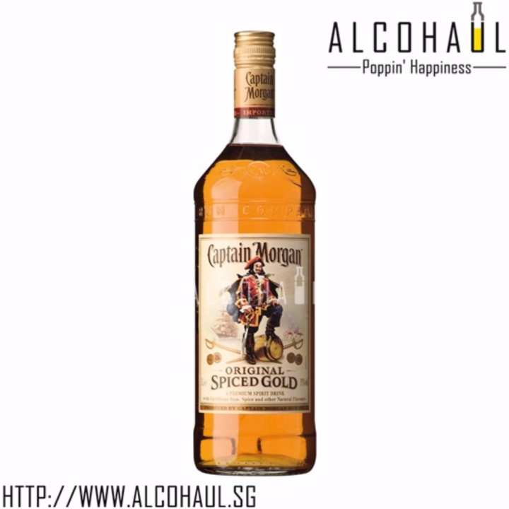 Captain Morgan Spiced Gold 750ml