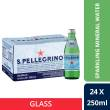 San Pellegrino Sparkling Natural Mineral Water, 250ml Glass Bottle (Pack Of 24)
