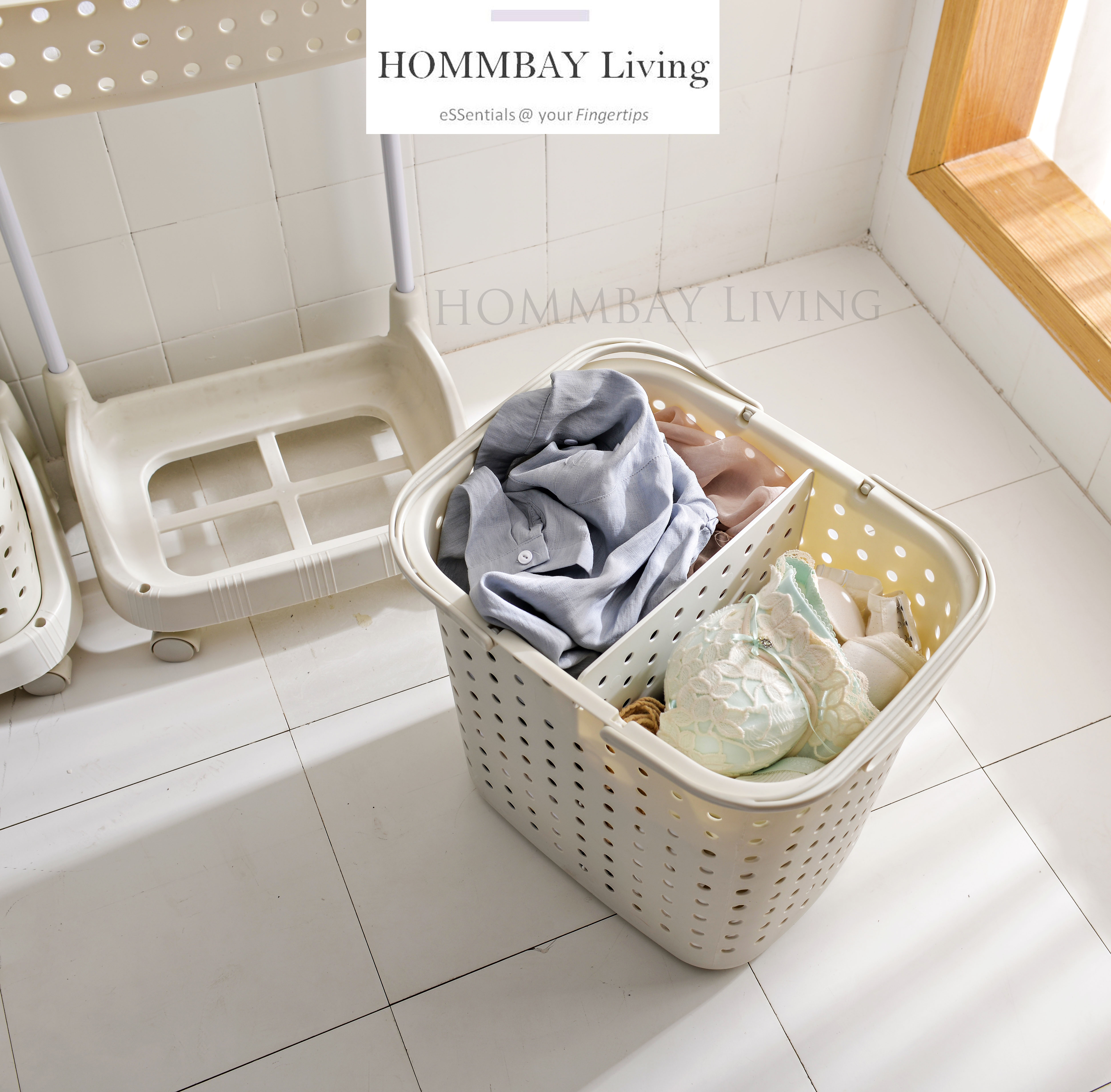 Layer And 3 Laundry Basket