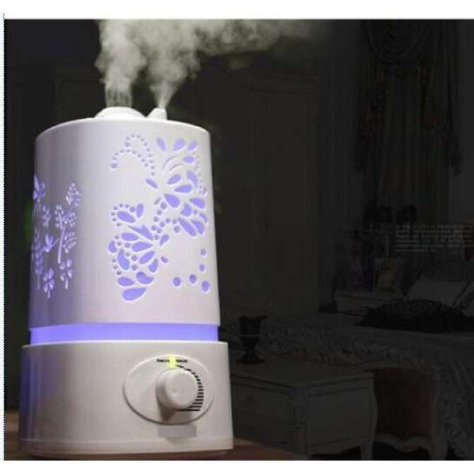 1.5L Ultrasonic Aroma Home Humidifier (White)