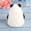 Aroma Diffuser Aromatherapy Air Purifier USB Panda Humidifier (White)